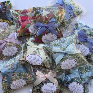 Lavender and Rose Scented Drawer Sachets