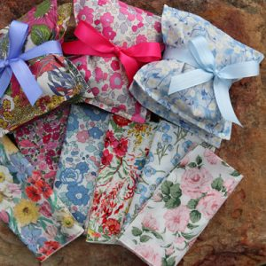 Ladies Handkerchiefs in Liberty of London Lawn